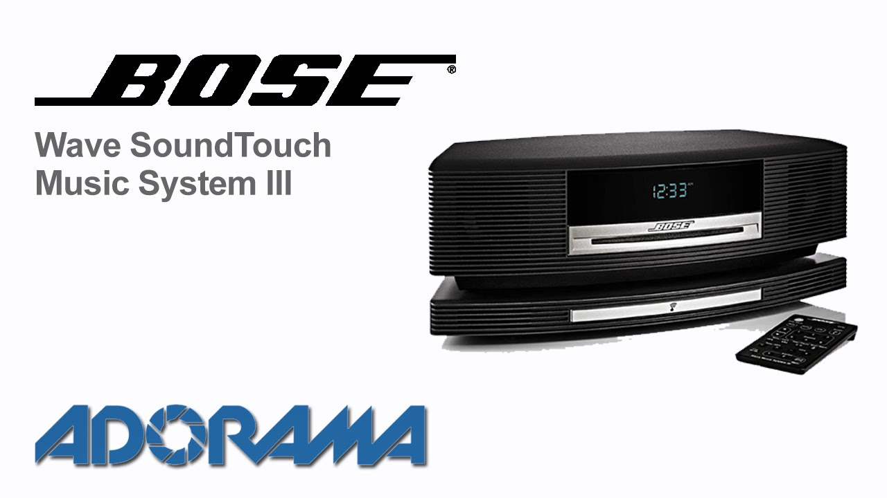 bose wave soundtouch music system iii product overview youtube. Black Bedroom Furniture Sets. Home Design Ideas