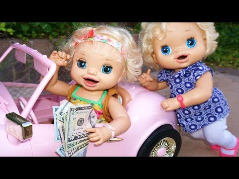 BABY ALIVE Goes To Target & BUYS A HUGE NEW CAR!! Baby Alive Videos!