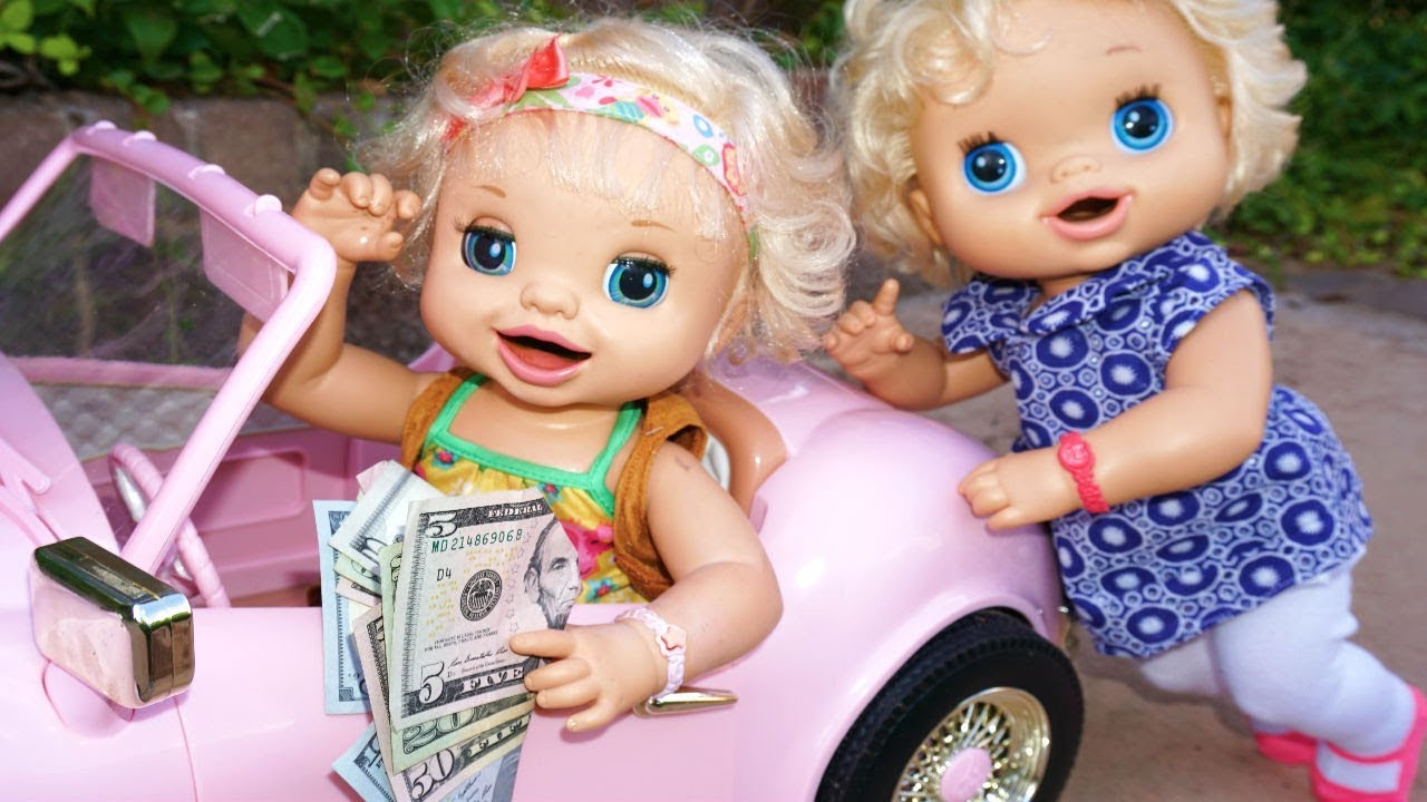 Baby Alive Goes To Target Buys A Huge New Car Baby Alive Videos