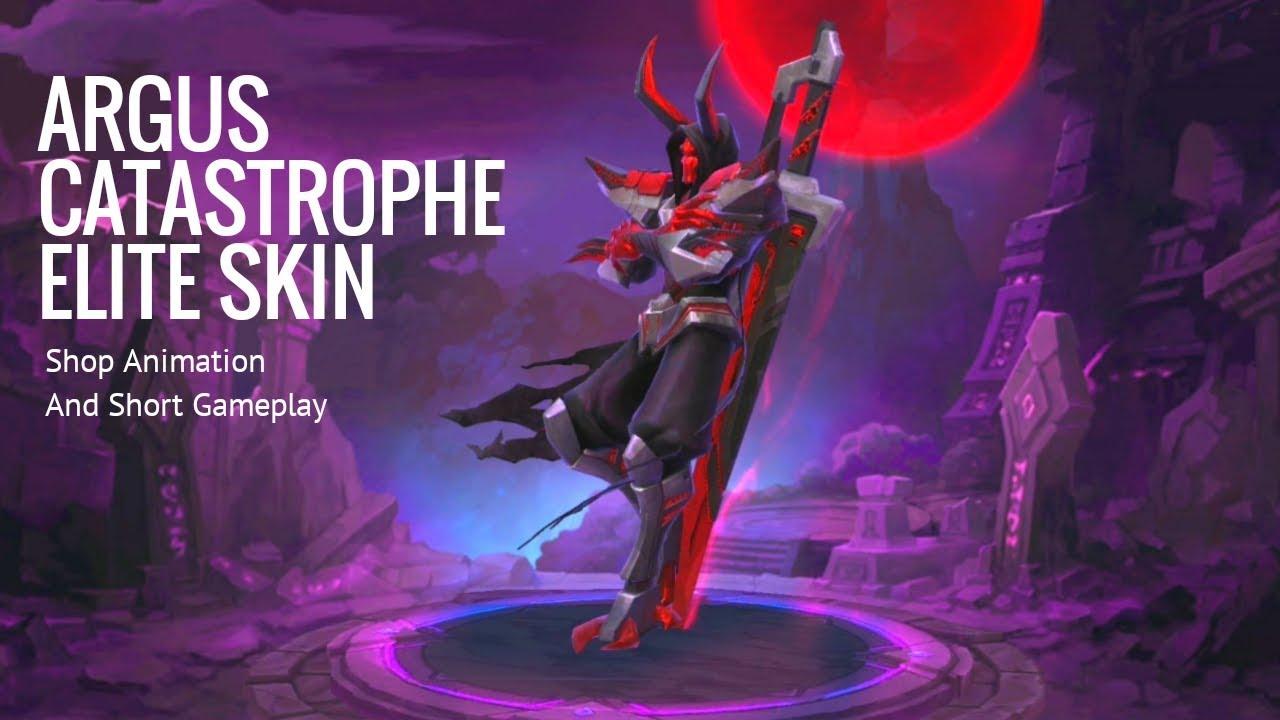 ARGUS CATASTROPHE SKIN  Upcoming Argus Elite Skin  Mobile