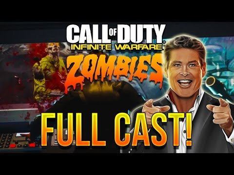 INFINITE WARFARE ZOMBIES FULL CAST REVEALED!! - Includes Seth Green, David Hasselhoff & More!