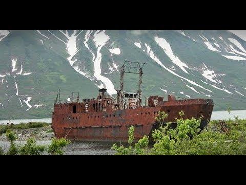 Заброшенная военная база подлодок ВМФ . СТРАШНО КРАСИВОЕ МЕСТО