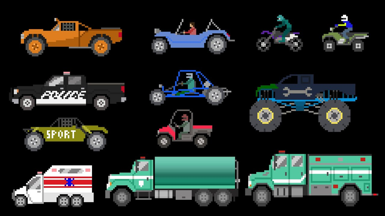 Off-Road Vehicles - The Kids' Picture Show