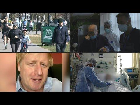 afpes: Crece esperanza en España en lucha contra coronavirus, que lleva a Boris Johnson al hospital | AFP