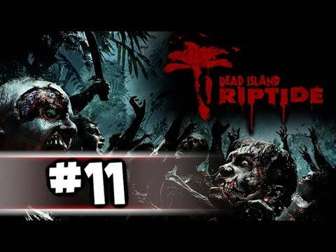 Dead Island Riptide Gameplay Walkthrough Part 11 - Fire Shovel Of Death!