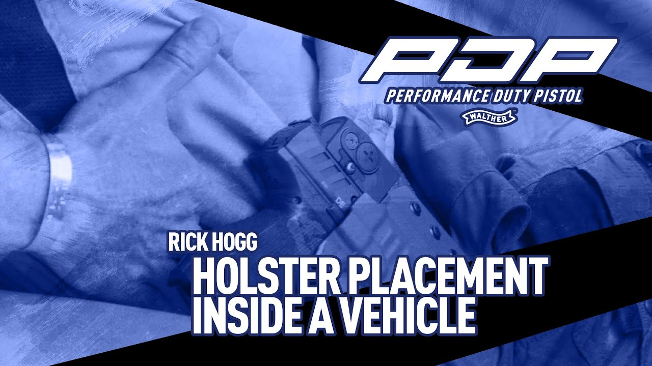 Holster Placement Inside a Vehicle