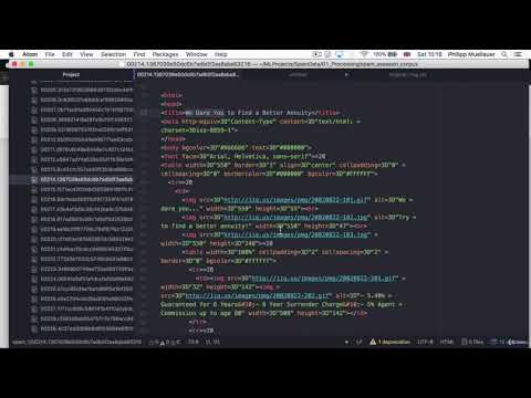 21  Removing HTML Tags With BeautifulSoup