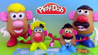 Pâte à modeler Play Doh Mr Potato Head Mr Patate Coiffeur Jouets ♥ Play-doh  Toy Story
