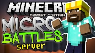 I WILL NOT BE STOPPED!!! - Micro Battles MCPE Minigame Server - Minecraft PE (Pocket Edition)