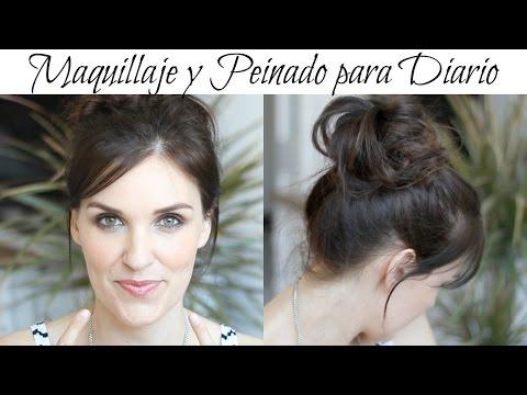♡ Maquillaje y Peinado para Diario ♡