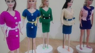 Clothes Crochet Doll 10