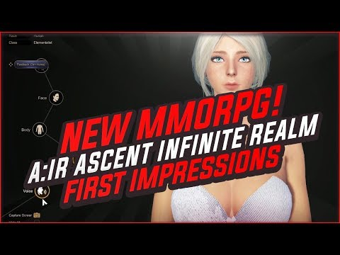 Ascent: Infinite Realm 2019 First Impressions - Is The A:IR MMORPG Worth Your Time?