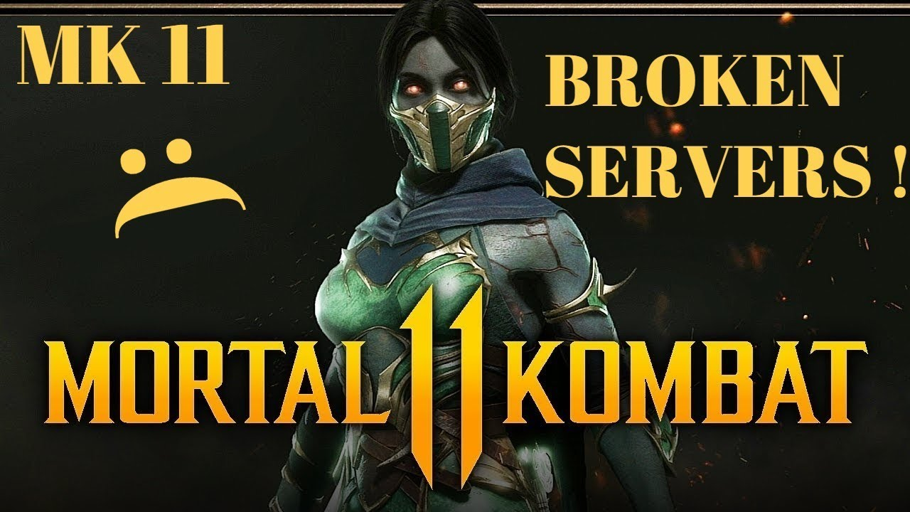 FIX THE SERVER ISSUES ! - MORTAL KOMBAT 11