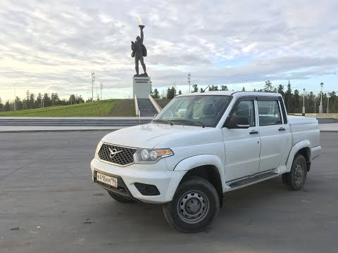 Тест-драйв UAZ Pickup - большой, белый, не твой