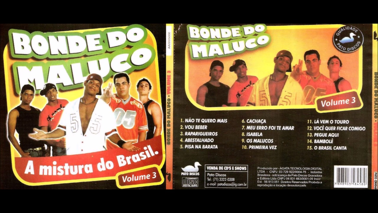 1 BONDE BAIXAR MALUCO COMPLETO DO VOL CD