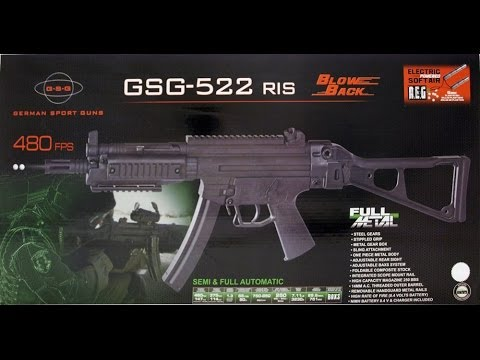 Review Airsoft MP5 RIS BlowBack GSG