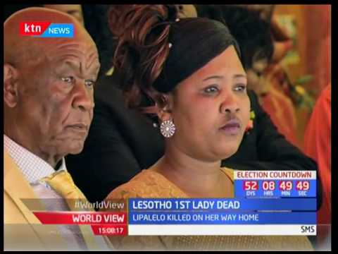 Lesotho First Lady killed by unknown assailant