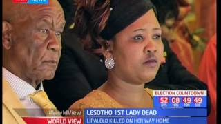 vuclip Lesotho First Lady killed by unknown assailant