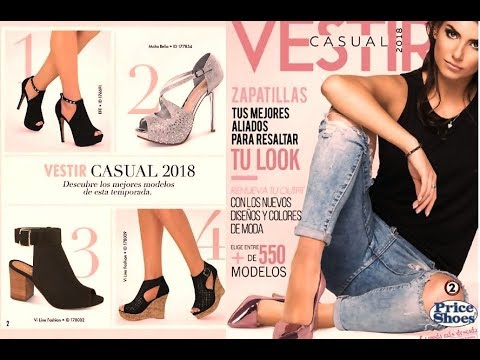 Catalogo Price Shoes Vestir Casual 2018 Segunda Edicion