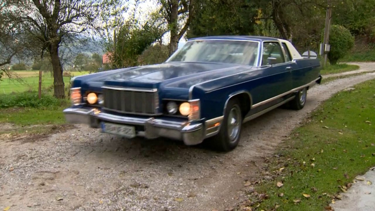 1975 Lincoln Continental Town Coupe Drive
