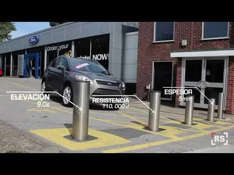 O&O Bolardos Automáticos Modelo EASY 700 INOX   RSeguridad