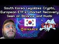 Bitcoin Volumes SOAR on Binance, & Institutional Money Coming Into Crypto, South Korea, Swiss Banks