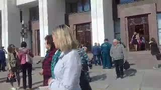 Эвакуация из здания администрации Владимирской области
