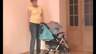 Обзор детской прогулочной коляски Capella S-801(Интернет-магазин