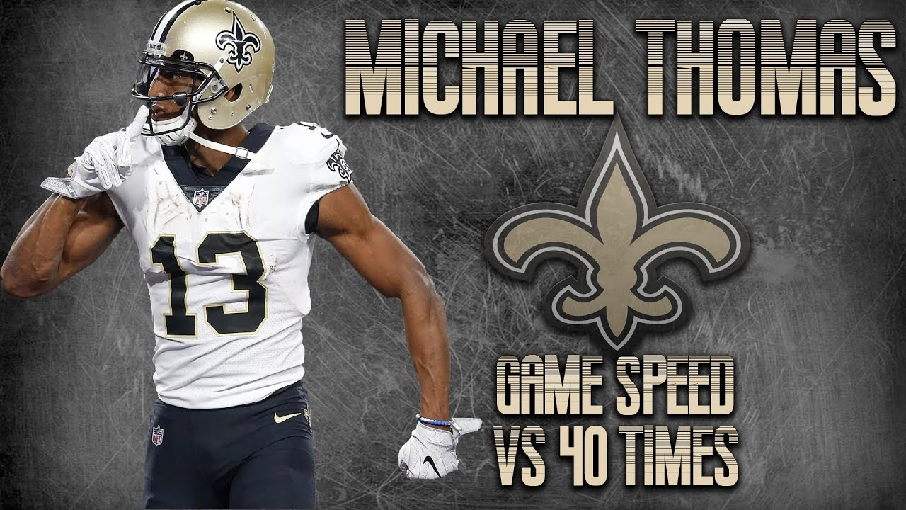 a75c5e821 Saints' Michael Thomas needs to be in your Top 5 wide receiver ...