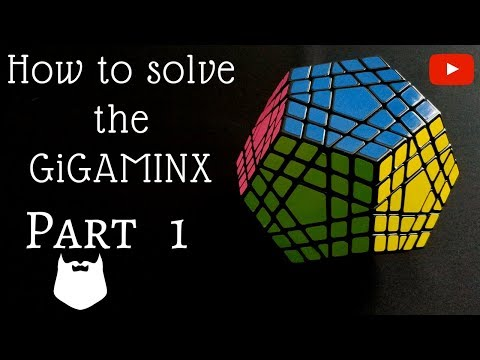 How to solve the Gigaminx Part 1 of 2