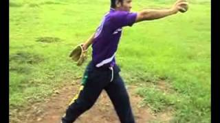 Teknik melempar bola pada softball tepatnya overhead (kelompok 6) 2009 A pendor UNESA.wmv