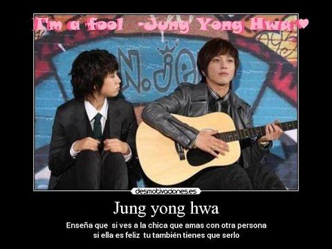 I'm a fool - Jung Yong Hwa Karaoke Instrumental (romanizacion-sub. español)
