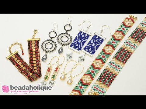9ac7468c68 Show & Tell: Exclusive Beadaholique Holiday Kits 2018 - YouTube