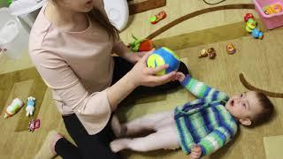 VLOG Настя играет с Алисой. Катя приехала