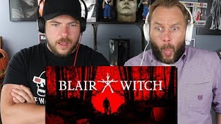 BLAIR WITCH Video Game Reaction