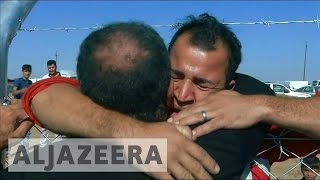 Battle for Mosul: Separated families unite in Khazir