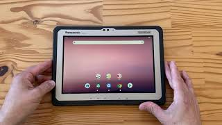 Panasonic Toughbook FZ-A3 unboxing: this Android tablet is rugged!