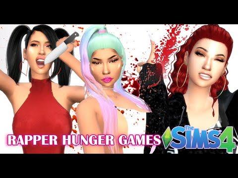 FEMALE RAPPER HUNGER GAMES | The Sims 4 thumbnail