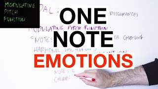 What Is The EMOTION Of One Note? [Modulating Pitch Function]