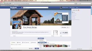 Tiny House Design Facebook Fan Page Overview