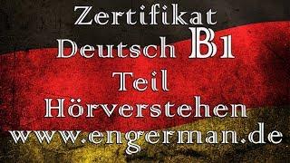 Zertifikat Deutsch B1 | Hörverstehen B1 | Modelltest 7