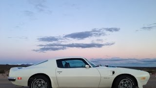 Trans Am - Trans America     (1972 Pontiac Trans Am on Route 66)