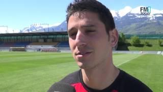Moreno Costanzo zum Spiel gegen St.Gallen