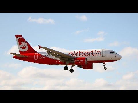 Air Berlin A319 LIMJ - EDDM, Microsoft Flight Simulator & Prepar3D , FSX P3D 2016, VATSIM HD