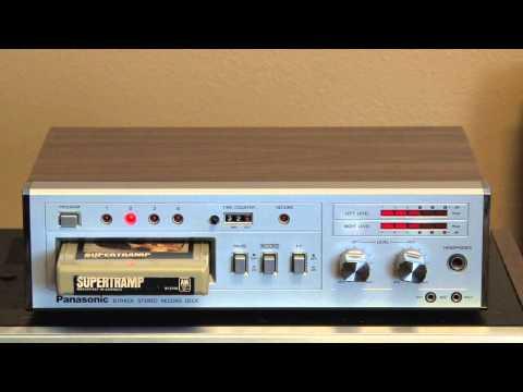 Panasonic RS 856 Stereo 8 Track Tape...