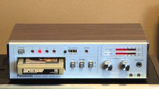 Panasonic RS 856 Stereo 8 Track Tape Player Recorder Tape Deck