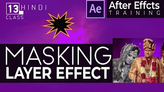 After Effect Basic Training in Hindi - MASK PATH