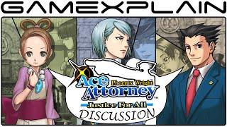 Phoenix Wright Ace Attorney: Justice For All Discussion