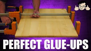 Pro tips for table tops, counters and panel glueups