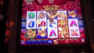 Aristocrat - Fortune Foo Line Hits - Parx Casino - Bensalem, PA